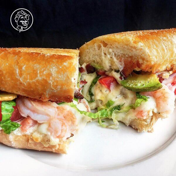 April 2019 Specials Sandwich The Shellfish One